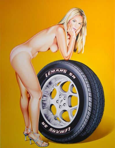 梅尔·拉莫斯 - 版画 - Tyra Tyre