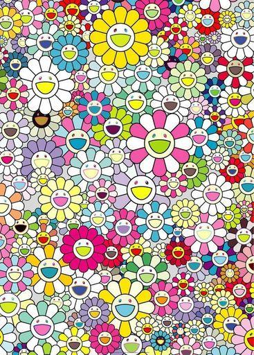 Takashi MURAKAMI - Print-Multiple - Shangri-la Shangri-la Multicolor