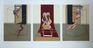Francis BACON, Triptych inspired by Oresteia of Aeschylus