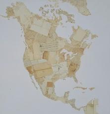 Fernando ALDAY - Painting - Emotional Map