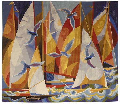 Simon CHAYE - Tapestry - Régates