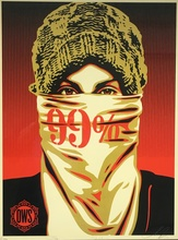 Shepard FAIREY - Print-Multiple - TRIPTYCH JUST OCCUPY