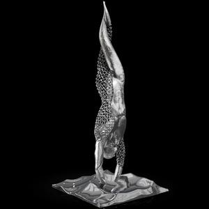 Franck KUMAN - Skulptur Volumen - L'inconnu