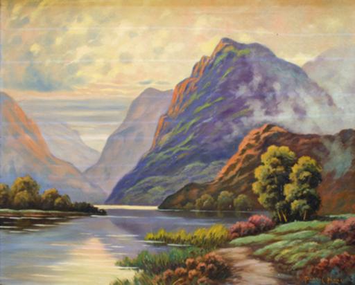 Thomas C. BLAKE - Pittura - Untitled