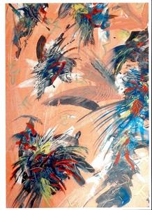 Didier ANGELS - Peinture - Les Samourai