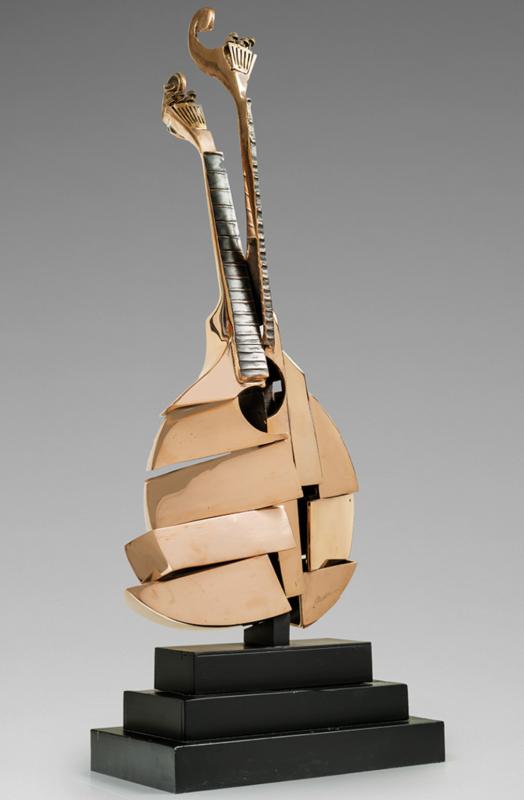 Fernandez ARMAN - Sculpture-Volume - Guitare portugaise