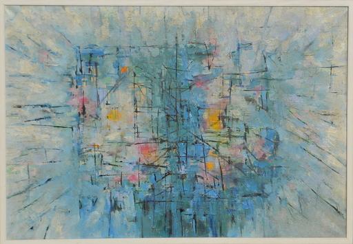 """Antonio BANDEIRA - Painting - """" Ville """" Paris"""