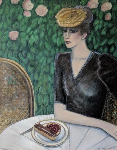 让-皮埃尔•卡西尼尔 - 绘画 - La tarte aux cerises