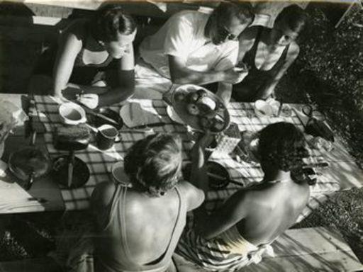 Herbert MATTER - Fotografia - Beim Nachmittagskaffee