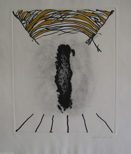 Josep GUINOVART - Grabado - GRAVURE 1989 SIGNÉE CRAYON ANNOTÉE HC HANDSIGNED HC ETCHING