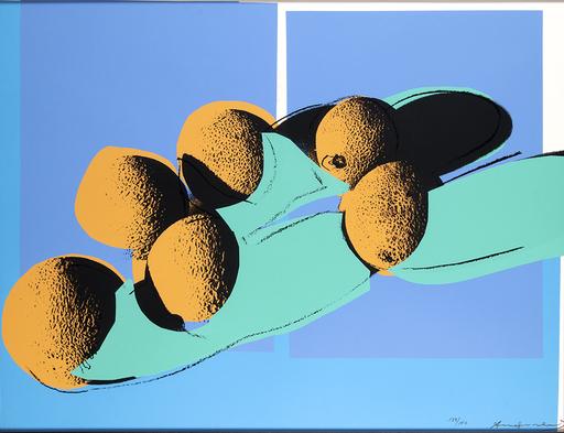 Andy WARHOL - Estampe-Multiple - Space Fruit: Still Lifes - Cantaloupes I