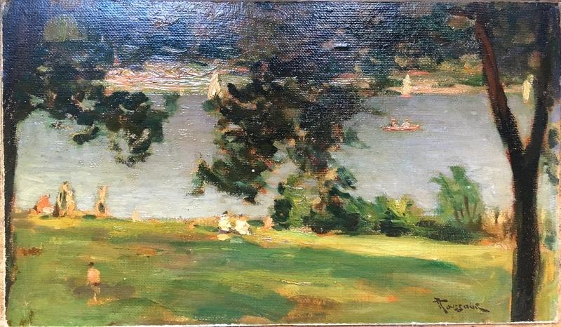 Fernand TOUSSAINT - Gemälde