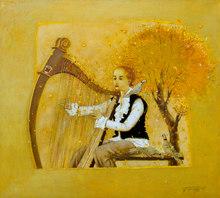"Tatjana PALCUKA - Painting - ""The Four Seasons"" (Vivaldi-autumn)    (Cat N° 5482)"