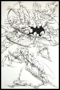 Marie TAKLANTI - Drawing-Watercolor - Trou noir