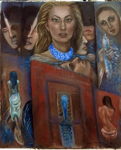 Ellina KATSNELSON - Painting - No name yet