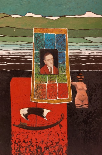 Marcel Charles DESBAN - 绘画 - James Joyce