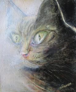 Didier DOIGNON - Pintura - The cat