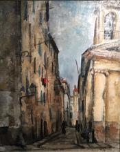 Takanori OGUISS - Painting - Rue d'Ajaccio