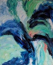 Theodora BERNARDINI - Pintura - Rencontre au Moulin Rouge