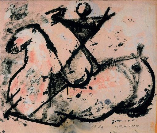 Marino MARINI - Painting - SANS TITRE