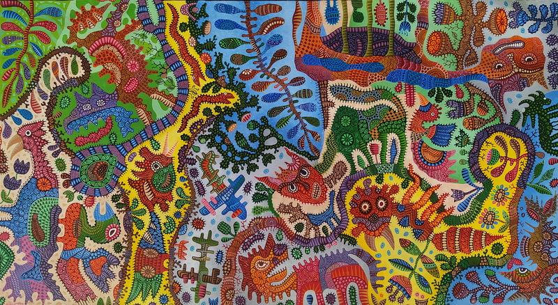 KUSBUDIYANTO - Painting - Satu Sisi