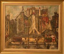 Charles TCHERNIAWSKY - Pintura - Cityscape