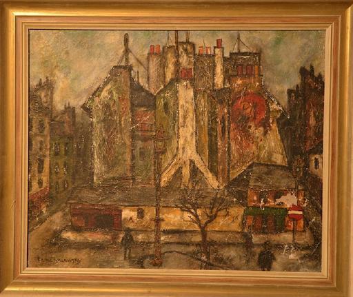 Charles TCHERNIAWSKY - Gemälde - Cityscape