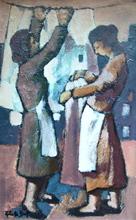 Roberto BORT (1933) - Les Lavandières
