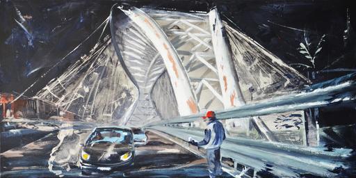 Diana KIROVA - Painting - Il venditore di fazzoletti