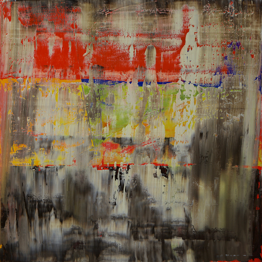 Harry James MOODY - Peinture - Abstract No.404