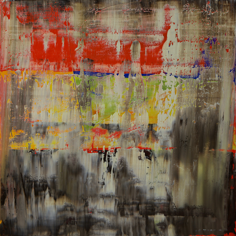 Harry James MOODY - Painting - Abstract No.404