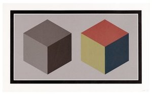 Sol LEWITT (1928-2007) - two cubes