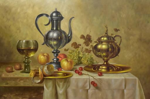 Andreas Gyula BUBARNIK - Painting - Stillleben