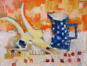 Jean-Jacques MORVAN - Peinture - Chevre et pichet