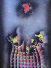 Franco COSTALONGA - Painting - Destrutturazione 4