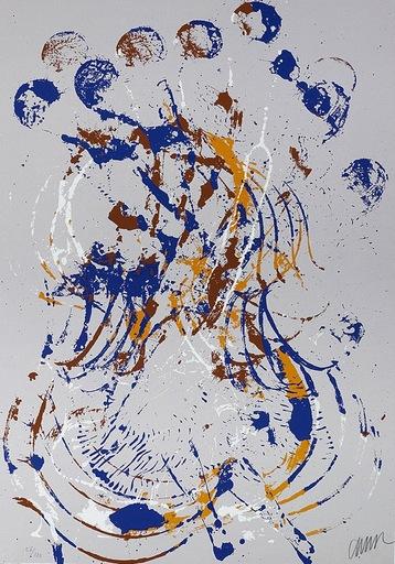 Fernandez ARMAN - Grabado - Melody for Strings I