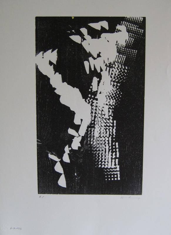 Hans HARTUNG - Estampe-Multiple - LITHOGRAPHIE SIGNÉE AU CRAYON HC HANDSIGNED HC LITHO