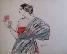 Andor DUDITS - Drawing-Watercolor - Sketch book