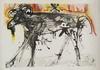 Salvador DALI - Print-Multiple - The Ram (Homage to Gerrit Dou)