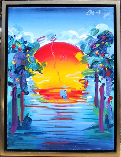Peter MAX - Painting - Better World