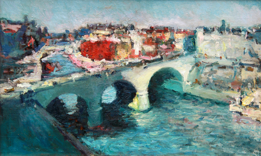 Levan URUSHADZE - Pittura - Bridge