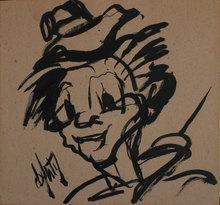 Henry Maurice D'ANTY - Pintura - le clown gavroche