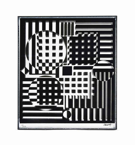 Victor VASARELY - Sculpture-Volume - Pleionne