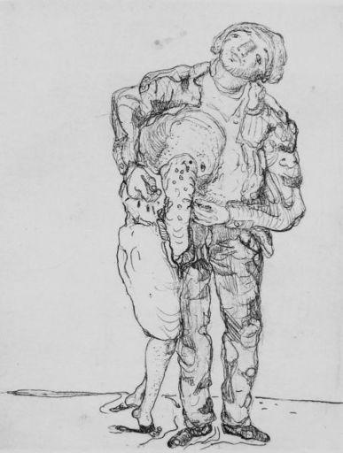MARWAN - Grabado - Mann and Frau