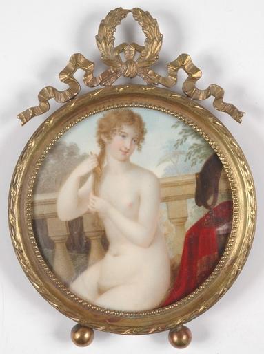 """Antonio ZUCCARELLI - Miniatura - """"Beauty Nude"""", Miniature"""