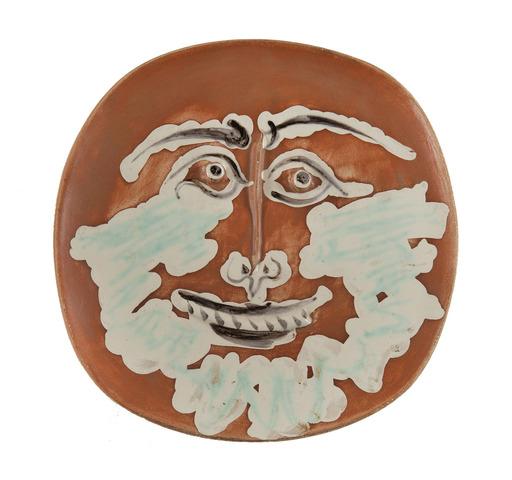 Pablo PICASSO - Ceramiche - Visage barbu