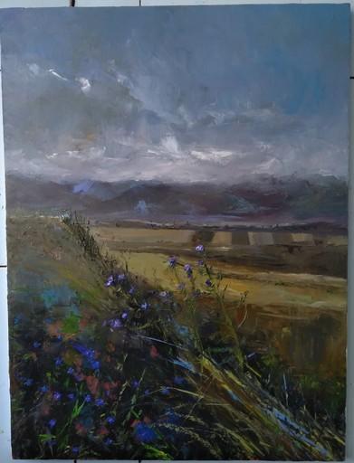 Ohanyan KAMSAR - Peinture - Armenian landscape