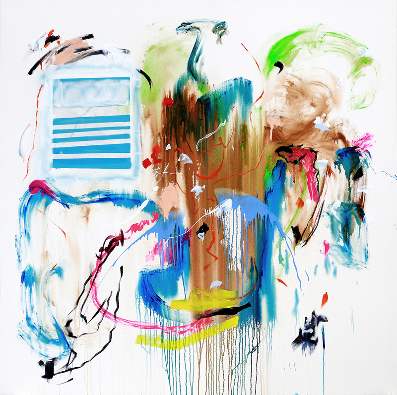 Rosario RIVERA BOND - Painting - Unbounded 1