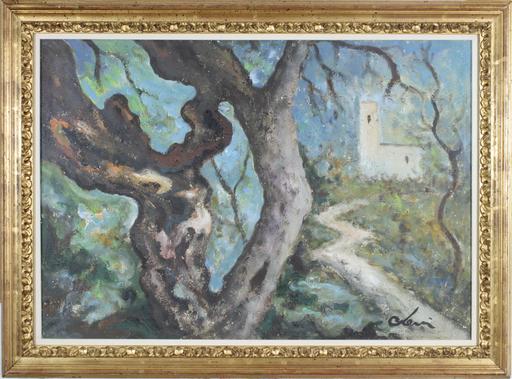 Carlo LEVI - Peinture - Senza titolo