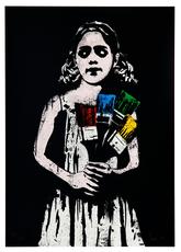 DOLK - Estampe-Multiple - Paint Brush Girl